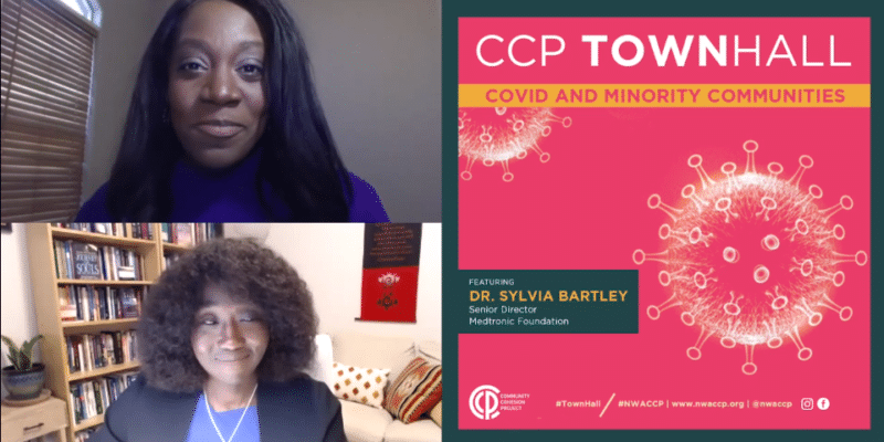 CCP Townhall - COVID and Minority Communities