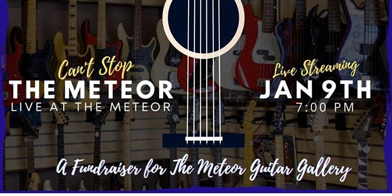 Can't Stop the Meteor Live Streaming Fundraiser Concert
