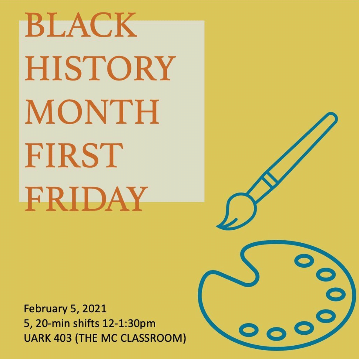 Black History Month First Friday