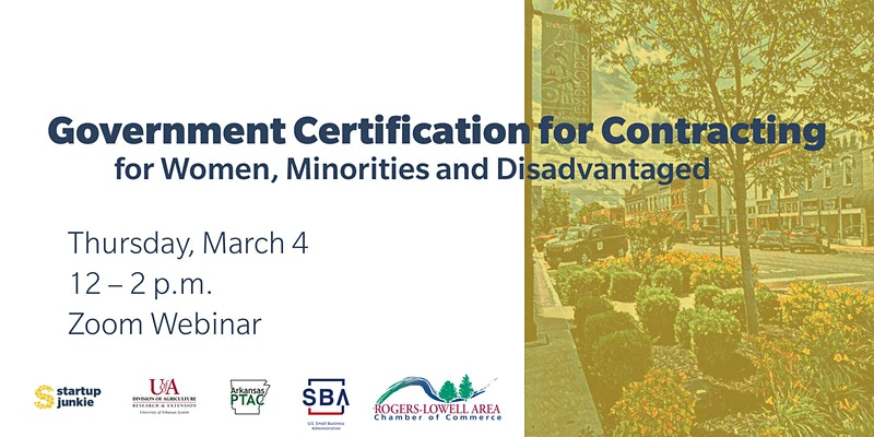 government certification women minorities & disadvantaged