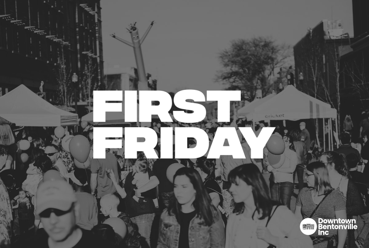 First Friday Downtown Bentonville
