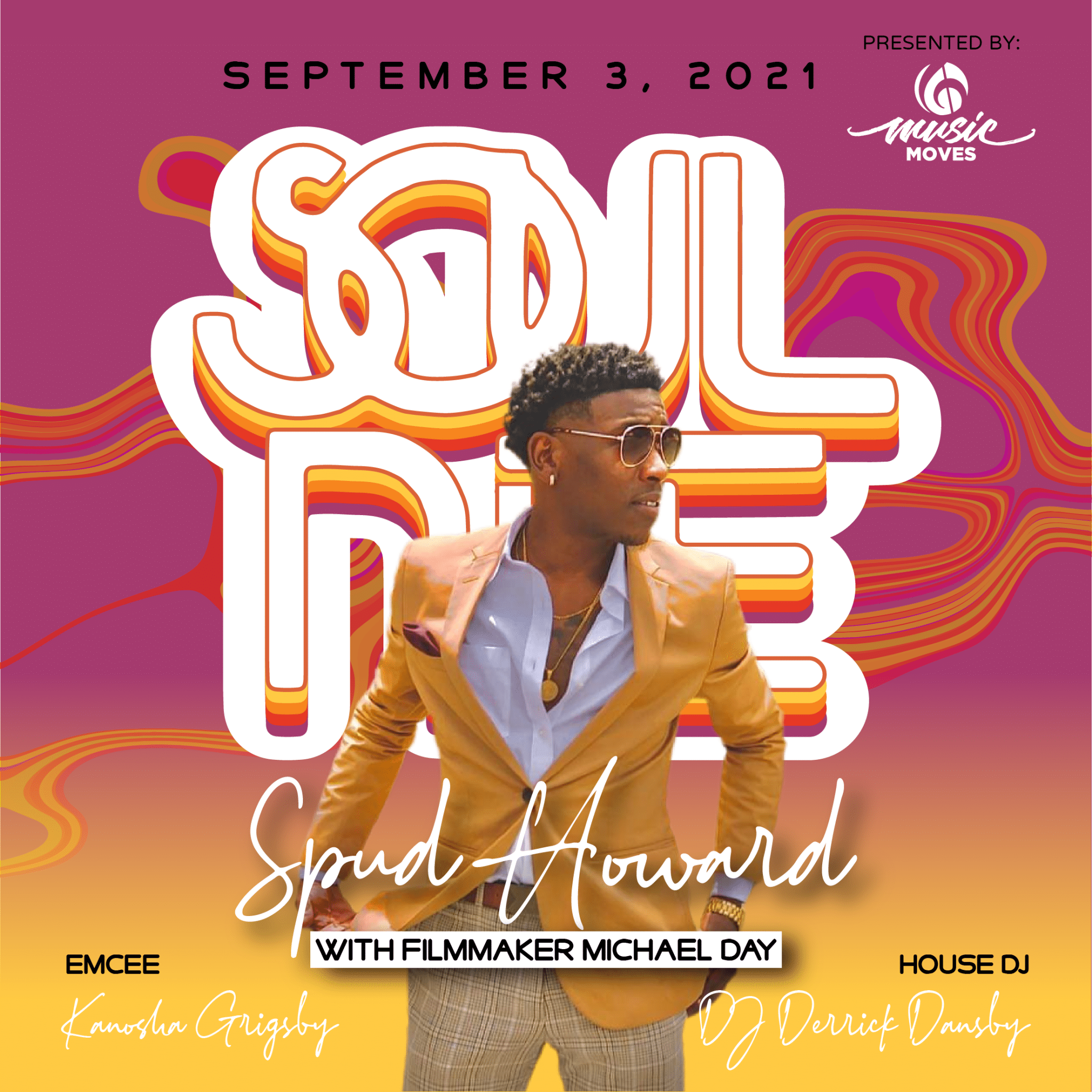 SOUL NITE CONCERT SERIES: SPUD HOWARD WITH MICHAEL DAY